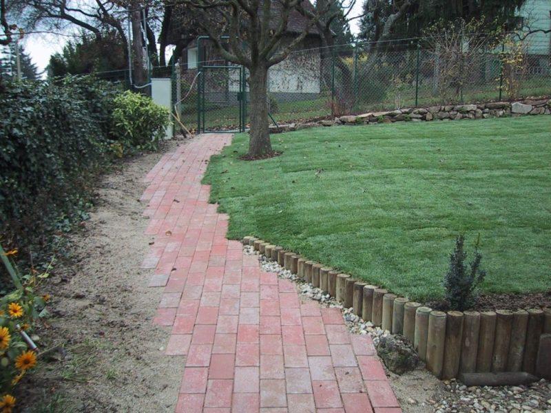 Wege fl chen und begrenzungen g rtnerei ziegler for Gartengestaltung wege
